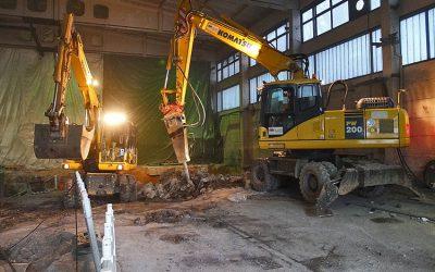 Hallenumbau Spühturm Großdubrau für Alsical Großdubrau
