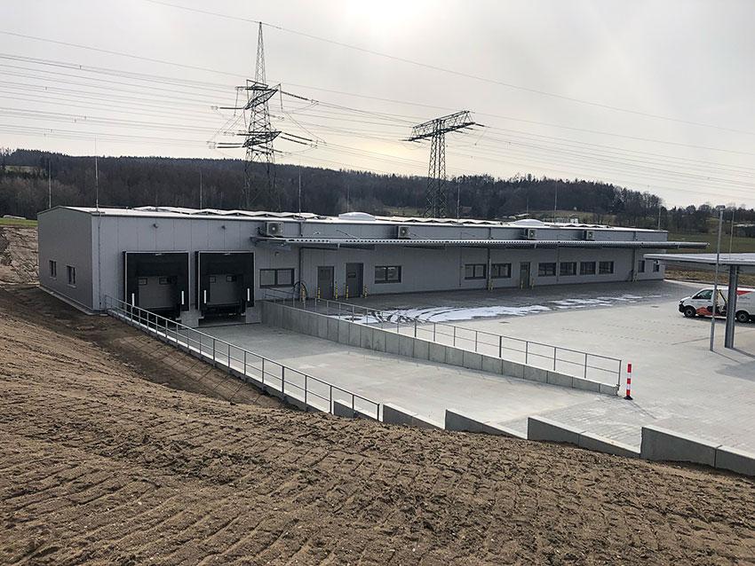 DHL-Stützpunkt Cunewalde