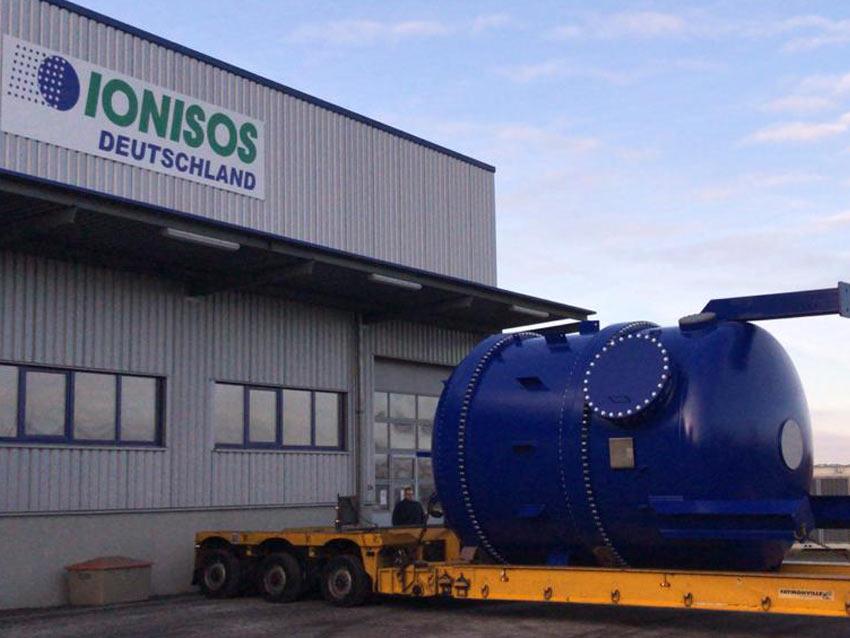IONISOS Bautzen: Aufbau von Anlagentechnik