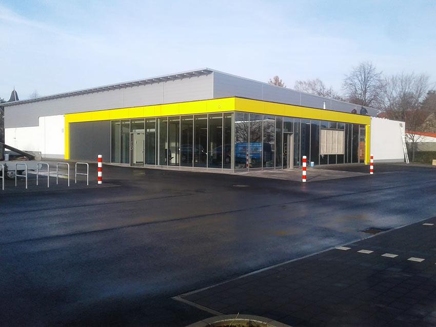 Neubau Netto Groitzsch